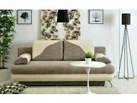 Sofa with bedding container