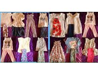 Girls clothing bundle 12 outfits Age 6-7