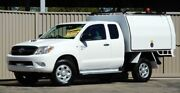 2008 Toyota Hilux KUN26R 08 Upgrade SR (4x4) White 5 Speed Manual Lismore Lismore Area Preview
