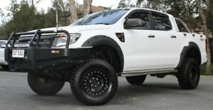2012 Ford Ranger PX XL Double Cab 6 Speed Sports Automatic Cab Chassis Southport Gold Coast City Preview