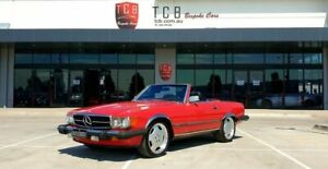 1986 Mercedes-Benz 560SL W107 Red Convertible Laverton North Wyndham Area Preview