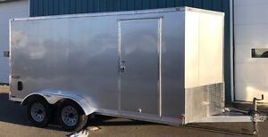 2017 Continental Cargo V-Series Trailer 7x14 All Aluminum