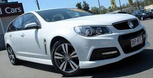 2015 Holden Commodore VF MY15 SV6 Sportwagon White 6 Speed Sports Automatic Wagon Caboolture Caboolture Area Preview