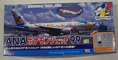 Tomy 1/300 Boeing 767-300 All Nippon Airways Pokemon Ana Aircraft Pocket Monster