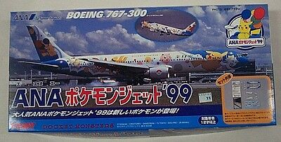 Tomy 1/300 Boeing 767-300 All Nippon Airways Pokemon Ana Aircraft Pocet Monster