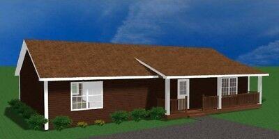 Prefab Home Kit Prefabricated House Kit By Landmark Home Land Company Kit Home