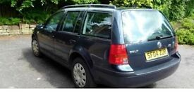VW Golf tdi 5dr Estate (04)