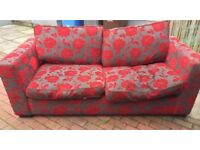 3 seater and matching chair