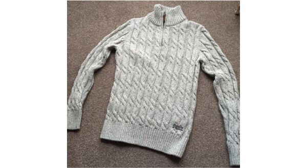 Superdry jumper with zip