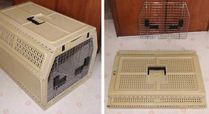 Colapseable dog/cat carrier