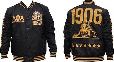 Alpha Phi Alpha Fraternity Light Weight Letterman Jacket  Varsity Jacket M 4X