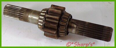 M3130t Jd8194t John Deere 420 Final Drive Shaft With Pinion Gear And Bearings