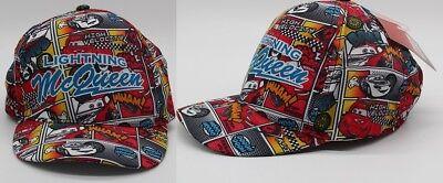 Disneys Cars Kappe Bunt Lightning McQueen Baseball Cap Cappy für Kinder