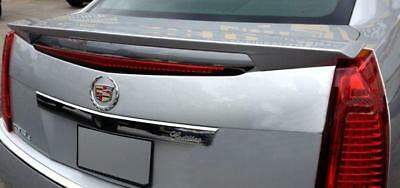 UN-PAINTED- GREY PRIME for CADILLAC CTS 4DR SEDAN 2008-2013 ABS REAR SPOILER NEW