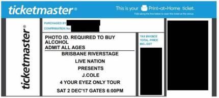 J Cole - Riverstage Brisbane