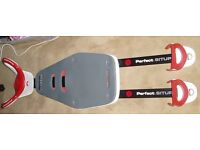 Perfect situp board. A lower and upper abs workout machine