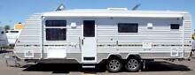 "23'6"" Bushmaster Redgum Off Road Caravan Campbellfield Hume Area Preview"