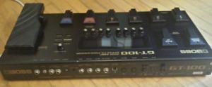 Boss GT100 Guitar Processor