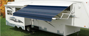 Awning 15 Electric Extend And Retract Fixed Pitch
