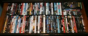 DVD's and VHS