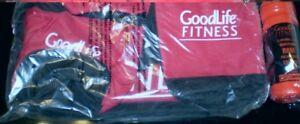 new Goodlife Fitness gym bag and water bottle