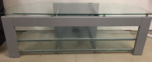 Glass Entertainment Stand