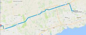 Whitby/Oshawa to Markham Ride Share