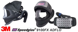 REDUCED 3M ADFLO welding helmet and filter pack