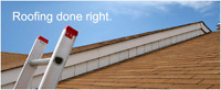 ROOFING JOBS BIG AND SMALL. QUALITY WORK AT AFFORDABLE PRICES!