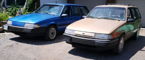 2 Chevrolet Cavalier wagons for sale