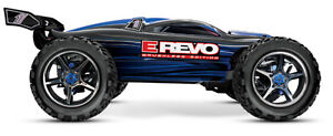 Traxxas RC E-Revo 1/10 Scale Brushless, New in the Box.