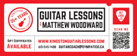 Guitar Lessons - Learn from EXPERIENCE!