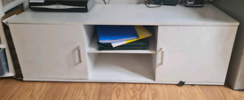 TV stand cabinet good condition home furniture