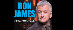 4 Tickets Ron James at The Fredericton Playhouse - November 24th