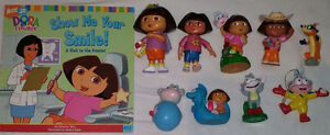 9 set of Qty 9 Dora Toys & Book 1 Set of Qty 9 Diego Toys & Book London Ontario image 3