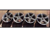 "18"" wheels RS6 style R-line PCD 5x100"