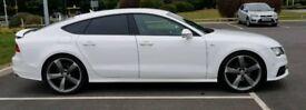 Audi A7 3L V6 diesel S-line Black edition
