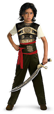 Prince of Persia Dastan Boy Child Costume Size 4-6 by Disguise NEW