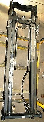 3715v1066 Upright Mast Clark Over All Height 91 Lift Height 146.25