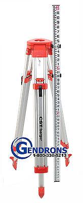 Aluminum Tripod Grade Rod Inches Combo For Laser Levelauto Leveltransit