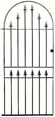 Metal Arched Spear Tall Gate to fit 3ft(915mm) opening x 6ft2(1880mm) high KBT4