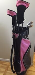 Women's XV 460 Complete Golf Set, R Hand, + bag and rain cover