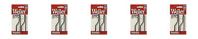 Weller 7250w Genuine Copper Tip Fits D550 D650 Soldering Iron 5 Packs Of 2