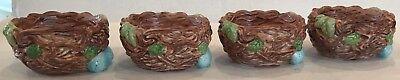 Kathy Sulewski Simple Treasures Bird Nest Blue Eggs Bowls Set Nature Ceramic 4
