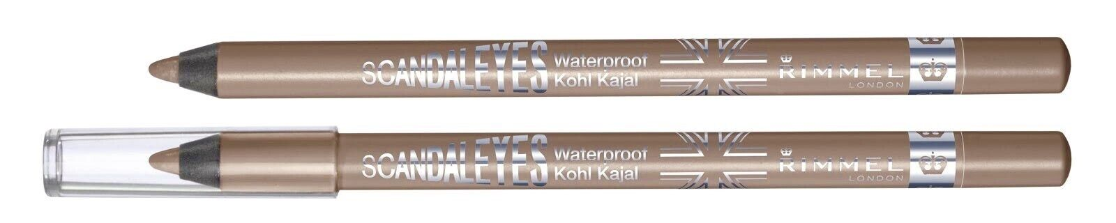 RIMMEL LONDON ScandalEyes Waterproof Kohl Kajal Eye Liner Ta
