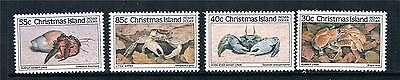 Christmas Is 1985 Crabs 1st issue SG 195/8 MNH