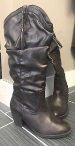 Brown slouchy boot size 7?