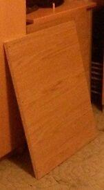 Ikea Pax Oak Shelves For The Single Wardrobe