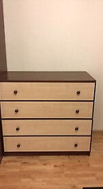 Wardrobes, chest of drawers