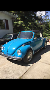 VW Beetle Convertible 1973